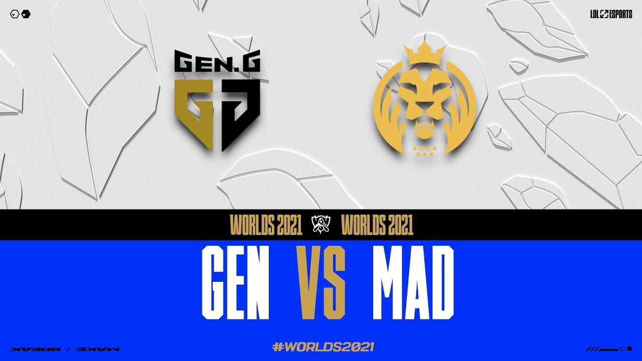 Download WORLDS 2021 - GROUPSTAGE DAY 7 - GEN vs MAD