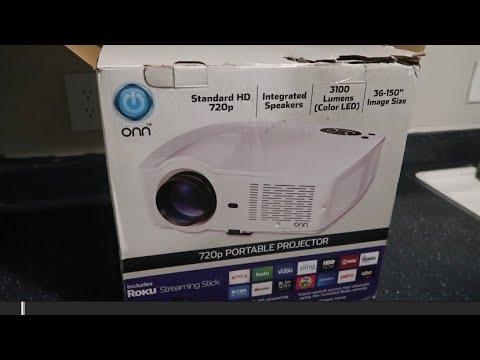 Roku projector onn ONN Electronics