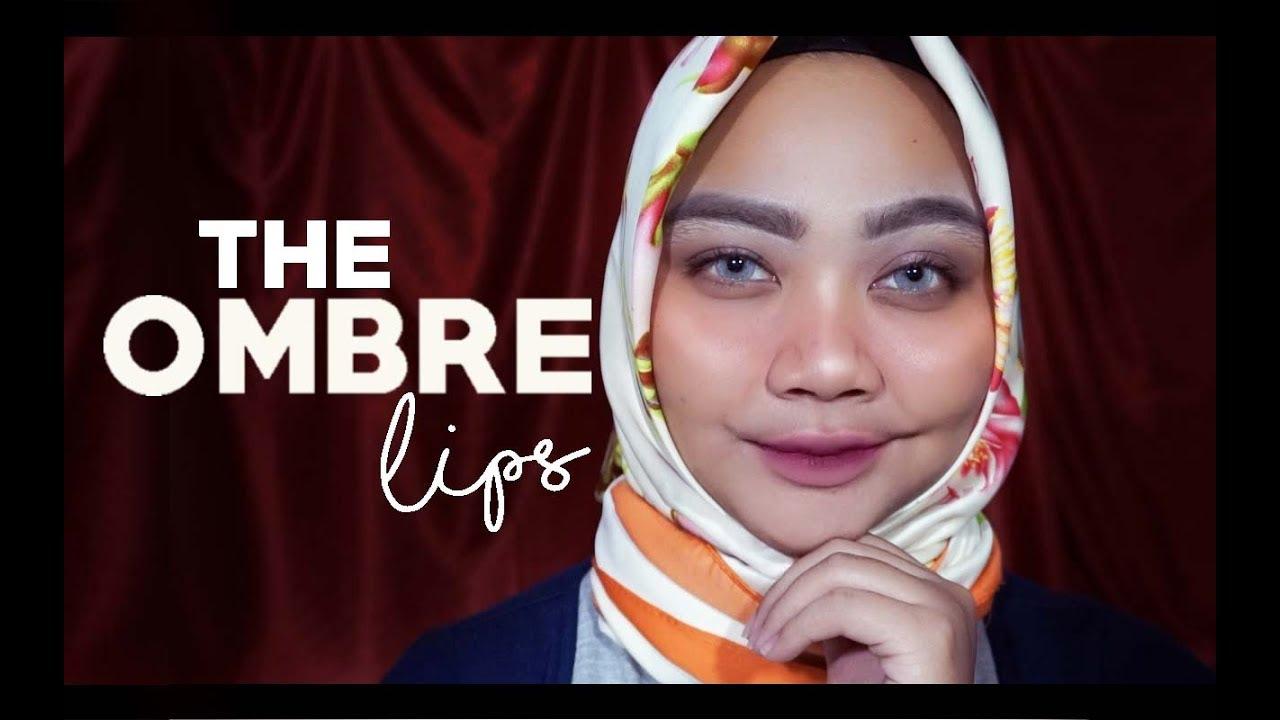 Trik Ombre Lipstick Paling Uhuyy Youtube Volia Manhattan Lip Cream