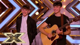 Irish Brothers team up for their own twist on Jimi Hendrix classic | The X Factor UK 2018