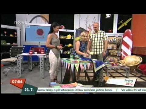 Snídaně s Novou 21.7.2014 (1.vstup)