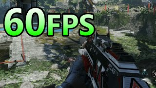 60FPS Test - Call of Duty: Advanced Warfare - PS4 Gameplay