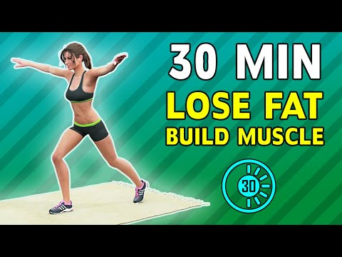 Half An Hour Workout You Can Do Anywhere: Lose Fat, Build Muscles