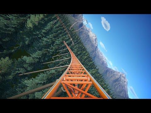 Planet Coaster: Ultra Savage Roller Coaster |