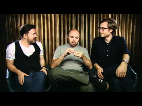 Ricky Gervais, Stephen Merchant and Karl Pilkington: An Idiot Abroad 2 interview