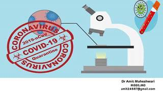 Sample Collection and Testing for the COVID-19 (Novel Corona Virus 19)as per WHO and ICMR guidelines