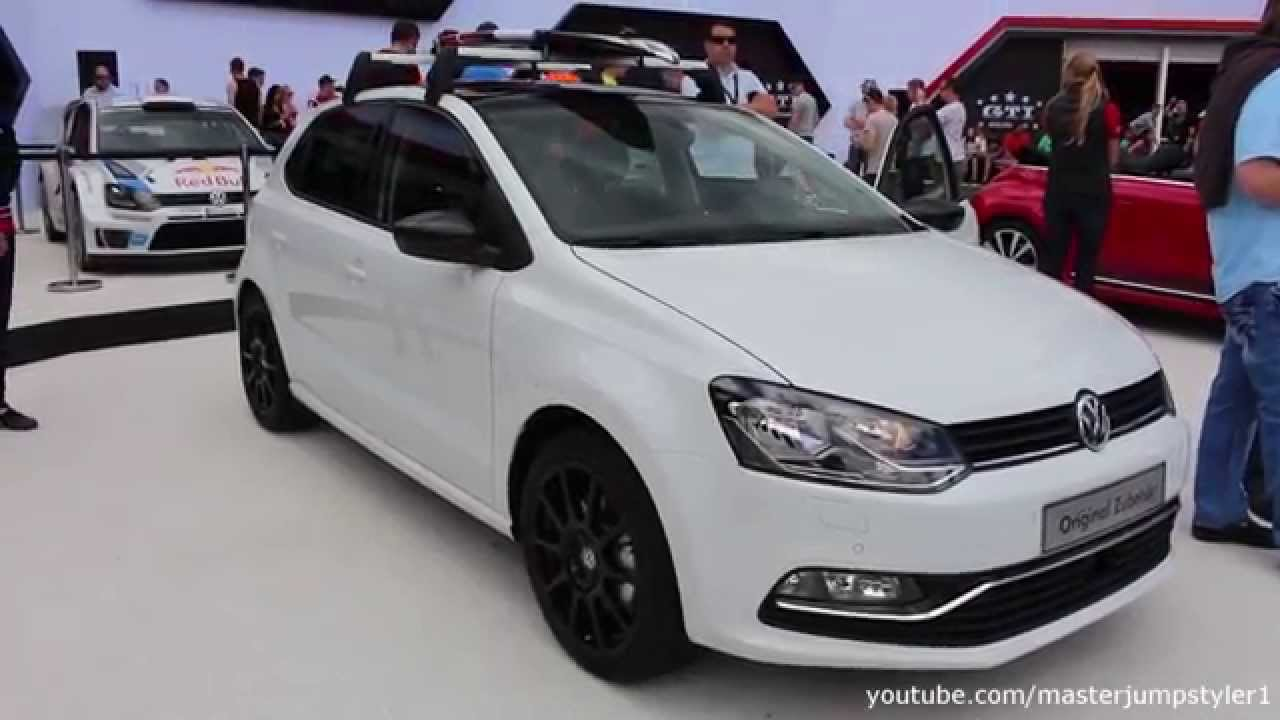 vw polo tsi with accessories youtube. Black Bedroom Furniture Sets. Home Design Ideas