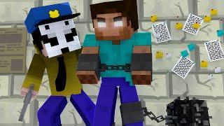 Minecraft : LICK PRENDEU O HEROBRINE !! - ( Polícia e Ladrão)