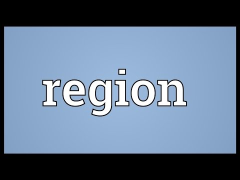 Region Meaning