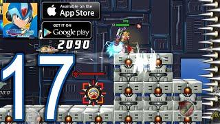 MEGAMAN X DiVE Mobile iOS Android Walkthrough - Part 17 - Jakob Orbital Elevator