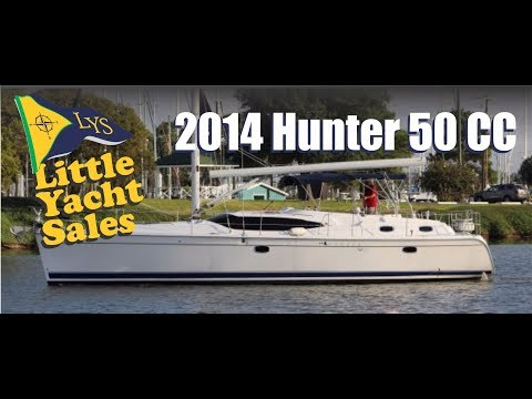 2014 Hunter 50cc Sailboat for sale at Little Yacht Sales, Kemah Texas