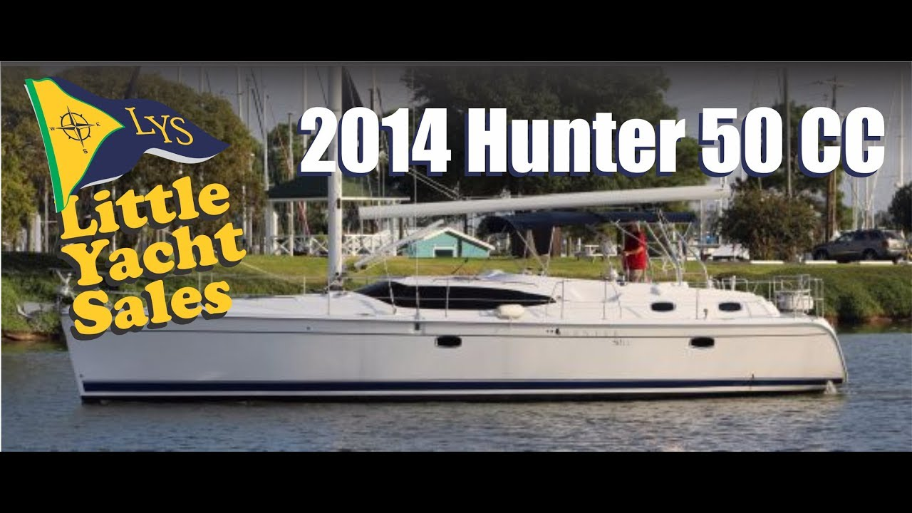 Sold 2014 Hunter 50cc Sailboat For Sale At Little Yacht Sales Kemah Texas