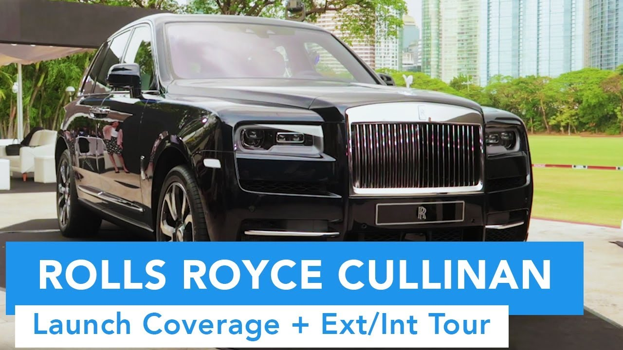 The Rolls Royce Cullinan Launch Coverage + Ext/Int Tour