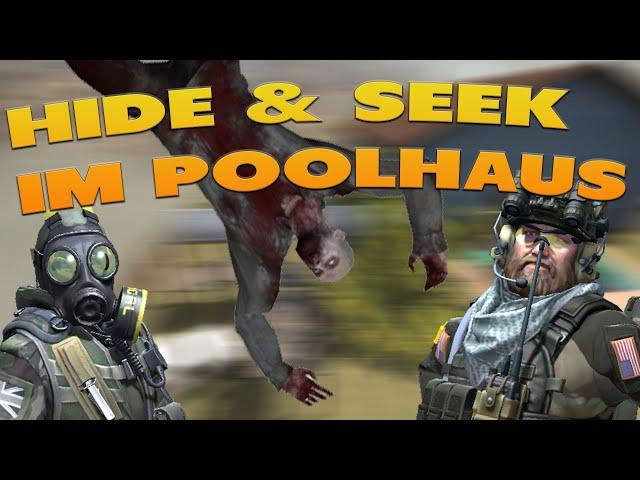 CS:GO Verstecken im Poolhaus mit der Gang | CSGO Hide and Seek [Deutsch]