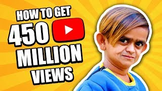 How to get 450 MILLION VIEWS | Meet CHOTU
