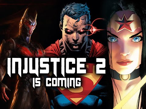 INJUSTICE 2 IS COMING: New DC Fighting Game by Mortal Kombat Creators
