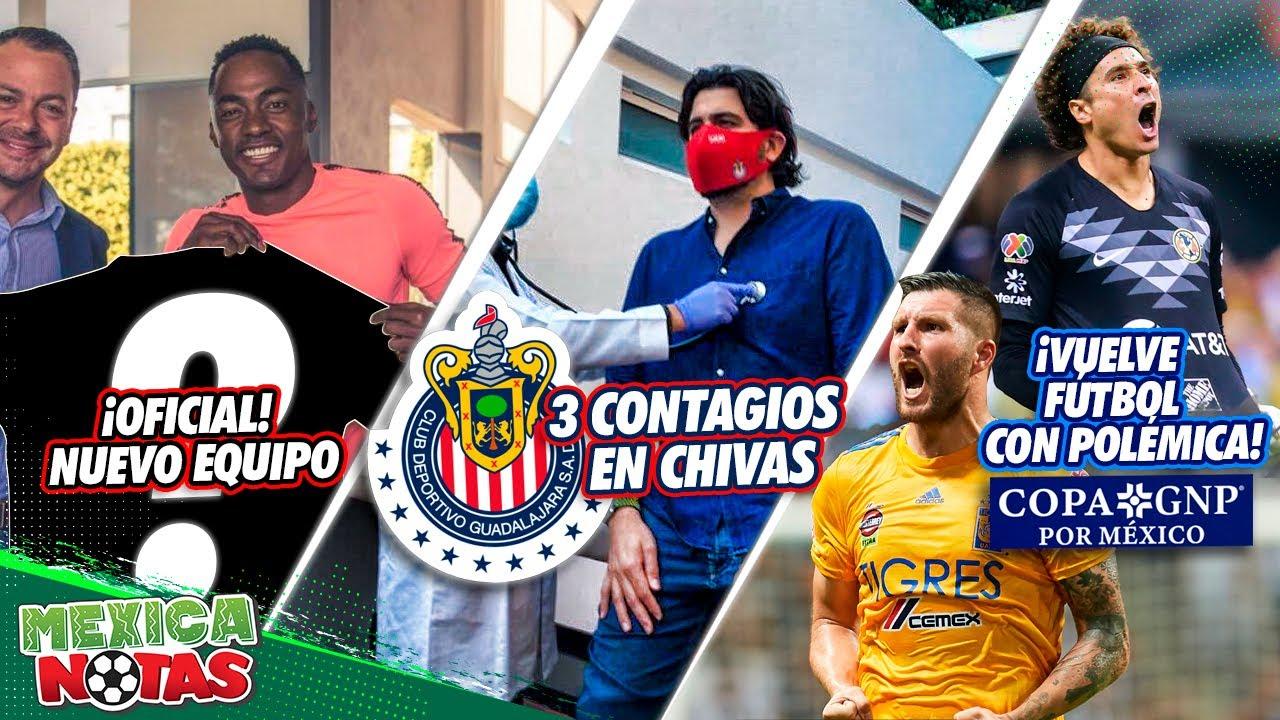 ¡OFICIAL! Renato tiene NUEVO EQUIPO | 3 CONTAGIOS en Chivas | ¡VUELVE fútbol Mexicano con POLÉMICA!