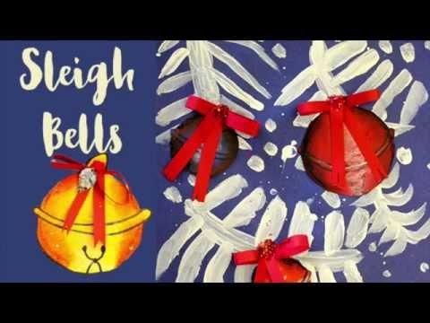 Sleigh Bells Art Project for Kids