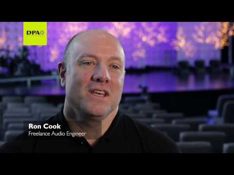 Sound Engineer Ron Cook's DPA story