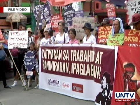 Labor groups, umaasa pa rin na lalagdaan ng Pres. Duterte ang EO vs kontraktwalisasyon