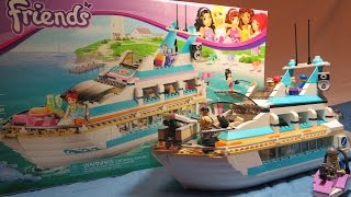 Lego REVIEW: Friends Dolphin Cruiser Set 41015