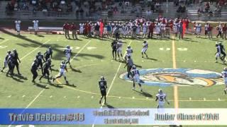 Travis DeBose #58 Highlight 2012