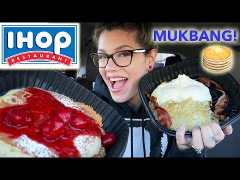 IHOP MUKBANG!! [EATING SHOW]