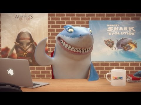 Hungry Shark Shorts - Apply Within - HUNGRY SHARK WORLD ANNOUNCEMENT TRAILER