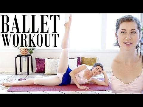Beginners Ballet | Lean Legs & Inner Thighs, Leg Workout, Dance Fitness At Home, Ab Exercises