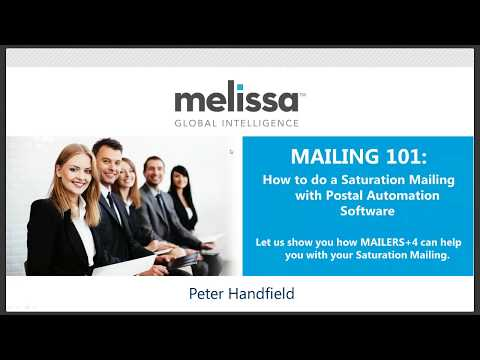 MAILING 101: How to do a Saturation Mailing with Postal Automation Software