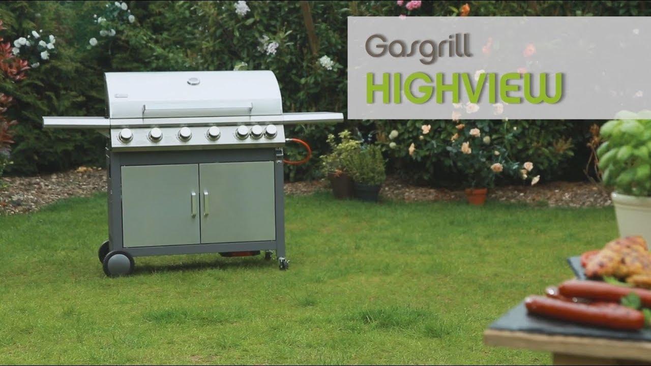 Tepro Gasgrill Highview Test : Tepro gasgrill highview youtube