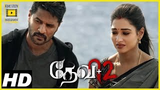 Devi 2 Tamil Movie Scenes | Prabhu Deva thrashes thugs | Ajmal Ameer shows his colours
