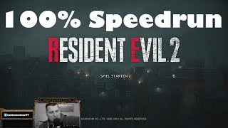 1 Shot Demo SPEEDRUN 100% #4 ! - RESIDENT EVIL 2