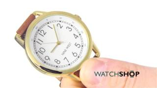 nine west ladies watch nw 1698wtbn