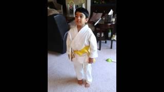 Averen's yellow belt test replay