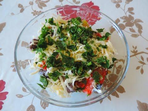 Диетический салат с морской капустой. Для тех, у кого проблема с щитовидной железой.