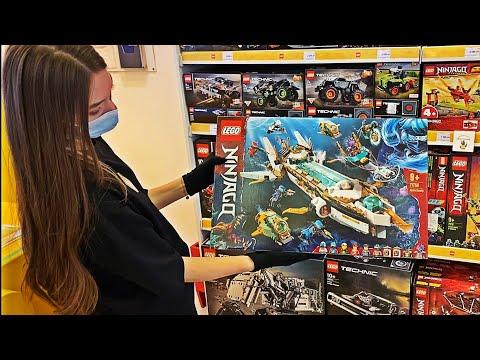 ПОТРАТИЛ 300000*К на ЛЕГО!!! РЕАКЦИЯ ПРОДАВЦОВ / КУПИЛ САМЫЙ ДОРОГОЙ НИНДЗЯГО (Часть 1) Лего / Lego