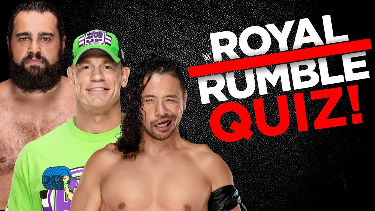 Can You Beat Our WWE Royal Rumble Quiz?!