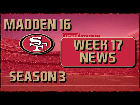 Madden 16 Franchise: San Francisco 49ers | Year 3, Week 17 League News: QB Scouting