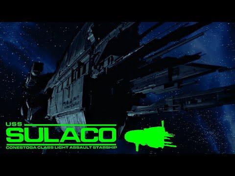 Anatomy of a Vessel: USS Sulaco - Registration CC13-2169