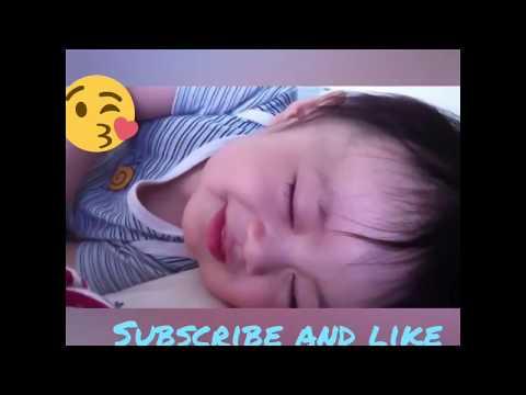 😍cute Babies Laughing While Sleeping😍😍😘