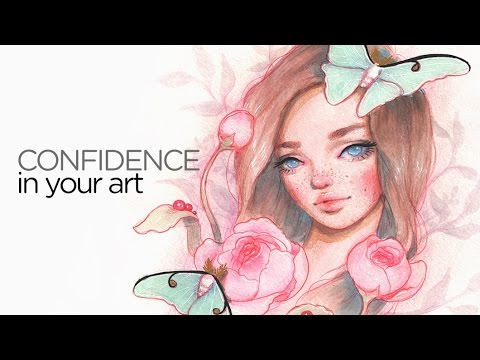 How To Have Confidence In Your Art 30 Days Of Art Episode 10 Youtube