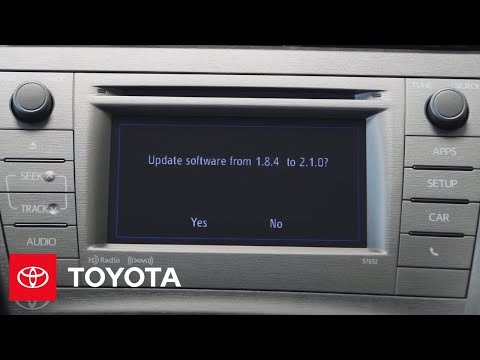 How to Update the Toyota Entune System | Wilde Toyota
