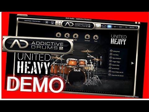 UNITED HEAVY Adpak DEMO - Addictive Drums 2 - XLN audio