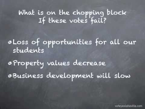 voting 101 - Lakeville Schools Levy Vote 2010