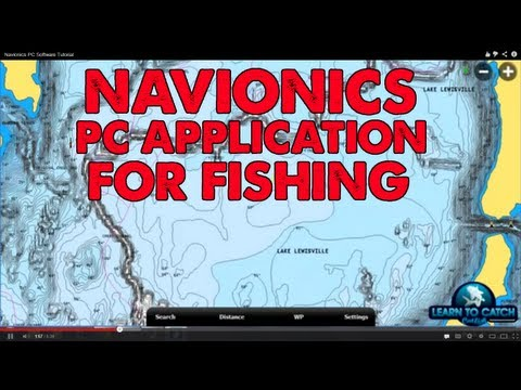 Navionics PC Software Tutorial