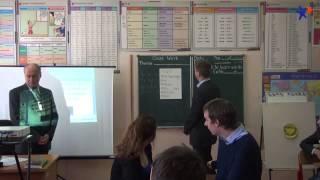 Якимчук Сергей Иванович фрагмент урока английский язык 11 класс + самоанализ