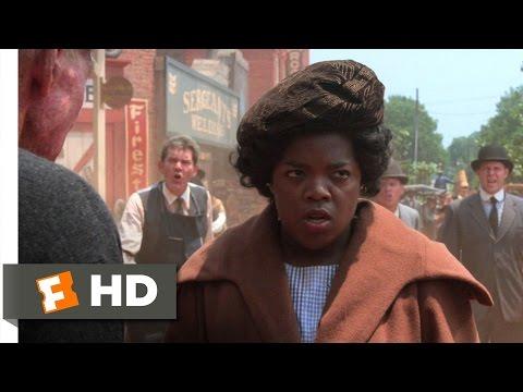 The Color Purple (3/6) Movie CLIP - Hell No (1985) HD