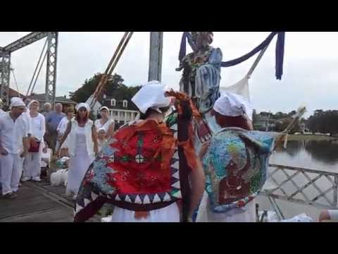 St. John's Eve Headwashing Ceremony 2015 - Bayou St. John - New Orleans