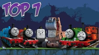 Top 7: Thomas & Friends Characters in Bad Piggies